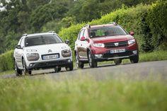 La Dacia Sandero Stepway  malmène la Citroën C4 Cactus - L'argus