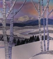 "Snow Valley 9.5"" x 10.5"" Jo Diggs"