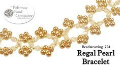 Make a Regal Pearl Bracelet. This video tutorial from The Potomac Bead Company teaches you how to make our new Regal Pearl Bracelet, which uses faceted round beads, pearls (or other round beads), and Miyuki seed beads. Making Bracelets With Beads, Jewelry Making Beads, Lace Bracelet, Beaded Bracelets, Pearl Necklaces, Verde Jade, Seed Bead Jewelry, Jewelry Bracelets, Beaded Jewelry Patterns
