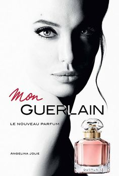Angelina Jolie is the new face of Guerlain fragrance line and starting with 1 March the brand will release a new Mon Guerlain Perfume