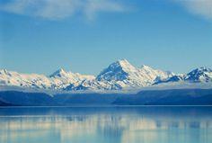 New Zealand alps, South Island