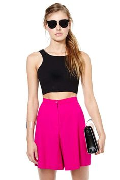 Vintage DKNY Roxanne Short | Shop New Colors On The Block at Nasty Gal