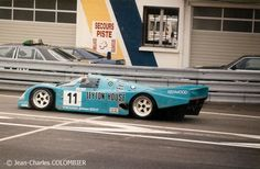 1989 LeMans N° 11 - PORSCHE 962 CK6  (Porsche Kremer Racing (D))