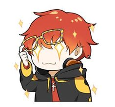 The perfect Mystic Messenger Animated GIF for your conversation. Discover and Share the best GIFs on Tenor. Anime Chibi, Chica Anime Manga, Kawaii Chibi, Mystic Messenger Emoji, Seven Mystic Messenger, Luciel Choi, Jumin Han, Handsome Anime Guys, Wattpad