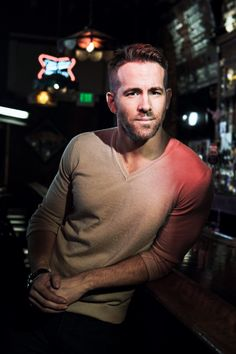 "steven-rogers: "" Ryan Reynolds photographed by Martin E Klimek for USA Today, 2016 """
