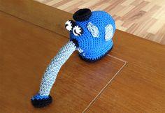 En god hækleopskrift på Noo noo robot støvsugeren fra Teletubbies serien.
