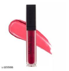 Lipsticks Swiss Beauty Matte Me Lipstick Product Name: Swiss Beauty MATTE ME LIPSTICK  Brand Name: Swiss Beauty Product Type: Lipstick Capacity: 6 ml Product Description: Introducing a lightweight liquid matte lipstick. The Swiss Beauty Matte Lip Ultra-Smooth Matte Liquid Lipstick features an extremely mattifying formula that does not dry your lips and is super long wearing. Paint your lips with this immaculately long-lasting and richly pigmented lip colour to create perfectly defined lips every time. Finish Type: Matte Applicator: Brush Package Contains: It Has 1 Piece Of Liquid Lipstick Sizes Available: Free Size   Catalog Rating: ★3.9 (312)  Catalog Name: Swiss Beauty Matte Me Lipstick Vol 1 CatalogID_379526 C171-SC2005 Code: 641-2796000-522