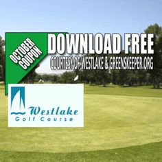 Westlake Golf Course Tee Time Special
