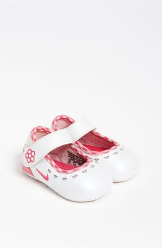 b58583be9a Nike 'Mary Jane' Crib Shoe (Baby) available at #Nordstrom Cute Baby