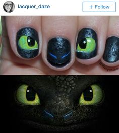 How to train your dragon 2 nails