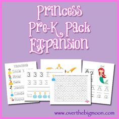 Princess Pre K Pack Expansion