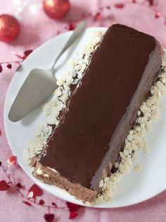 Bûche de Noël Chocolat - Poires