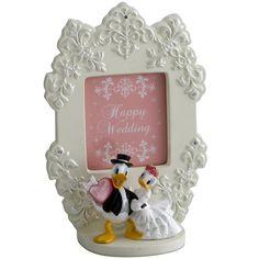 [Disney Mickey & Friends] Wedding picture photo frame - Donald Duck & Daisy Duck