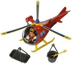 Simba Toys 9251661 Fireman Sam Wallaby Helicopter Playset