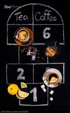 Tea or Coffee? - stock photo