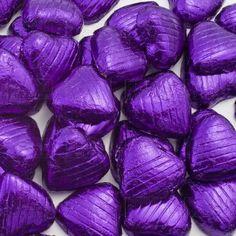 Purple Lilac, Shades Of Purple, Deep Purple, Purple Hearts, Bright Purple, Dark Chocolate Benefits, Purple Food, Purple Candy, Pastel Candy