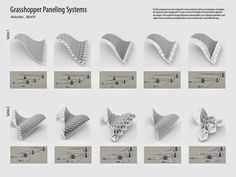 Misri|Arch470|UMD: Grasshopper Paneling Systems