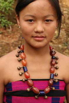 India - Nagaland   Sangtam Naga at Chare village.    © Walter Callens