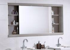 bad spiegelschrank schiebetür regale badezimmermöbel