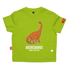 Personalised Diplodocus Dinosaur T-Shirt
