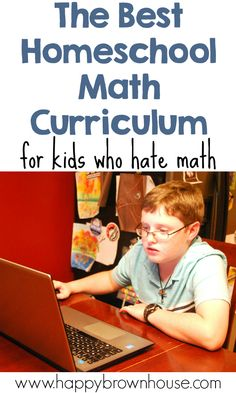 Do you have a kid who hates math? This is the BEST Homeschool Math Curriculum for Kids Who Hate Math. End the math time meltdowns with this online homeschool math curriculum. High School Curriculum, Homeschool Curriculum Reviews, Teaching Textbooks, Teaching Math, Teaching Tools, Math For Kids, Fun Math, Practice Math Problems, How To Start Homeschooling