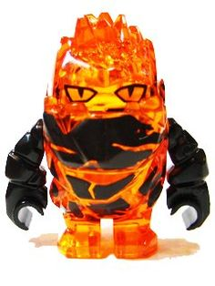 Rock Monster FIRAX (Trans-Orange with Black Arms) Lego Power Miners Minifigure by LEGO. $14.37. CHOKING HAZARD FOR CHILDREN 3 AND UNDER. Rock Monster FIRAX (Trans-Orange with Black Arms) Power Miners minifigure. MINIFIGURE IS APPROX. 1 1/2 INCHES TALL. New Rock Monster Firax Trans-Orange with Black Arms. APPROX. 1 1/2 INCHES TALL. CHOKING HAZARD FOR CHILDREN 3 AND UNDER