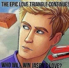 Is it the brick or the stapler? That's the question. Who will win Jason's love? xD