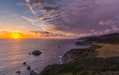 Big Sur Coastal Sunset by Aric Jaye #bigsur #bigsurcoast #AricJaye #beauty #sunset #clouds #mountains #california #westcoast #cliffs #spring #ocean #pacificocean #waves #spectacular #calocals - posted by Aric Jaye https://www.instagram.com/aricjaye - See more of Big Sur, CA at http://bigsurlocals.com