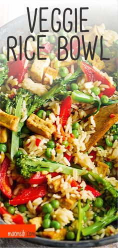 Dairy-Free Recipes Veggie Rice Bowl Rezept Tend To Your Wildflowers As They Bloom Whether we see the Spicy Recipes, Greek Recipes, Easy Healthy Recipes, Pork Recipes, Indian Food Recipes, Italian Recipes, Appetizer Recipes, Chicken Recipes, Baker Recipes