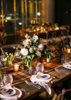 rustic glam centerpieces - Weddingbee.com