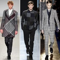 Top Menswear Trends from Catwalks for Fall Winter 2013