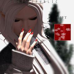 f21b1c4bdd446 GIFT nail polish ror finger nail and toy nail. Work with maitreya and  belleza mesh body's.