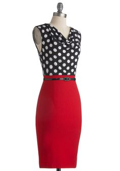 Profesh Opinion Dress. When a friend is in need of fresh fashion advice, they always turn to you.  #modcloth