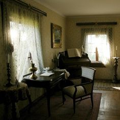 Manor Houses, Lany, Old And New, Interior And Exterior, Teak, Interiors, Curtains, Country, Building