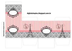 it Personalizado Tema Festa Paris para Imprimir -