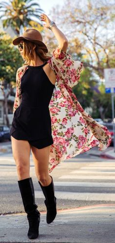 Floral Kimono Summer Style by Twin Fashion