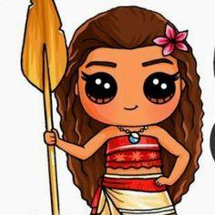 draw so cute Kawaii Girl Drawings, Cute Disney Drawings, Cute Girl Drawing, Cartoon Girl Drawing, Kawaii Art, Cartoon Drawings, Cute Drawings, Kawaii Disney, Disney Kunst