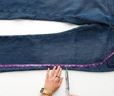 Image result for como fazer uma bolsa jeans