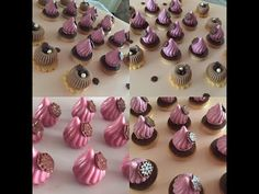 Hershey Recipes, Crochet Pincushion, Mini Cakes, Chocolate Chip Cookies, Macarons, Chocolates, Biscuits, Wedding Cakes, Food And Drink