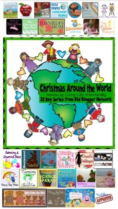 "Christmas Around the World. ""travel"" to a new country each day  learning about how the holidays are celebrated, making a creative craft, trying a new recipe, teaching your kiddos a little something about geography,"