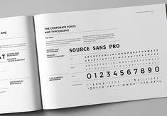 Super zrobiona księga znaku, mocny wizerunek i ładnie przedstawiona typografia