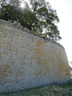 Great Zimbabwe walls   #Lines