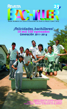 Revista Bachiller No. 23 #COBAES #Sinaloa #Revista #Educación