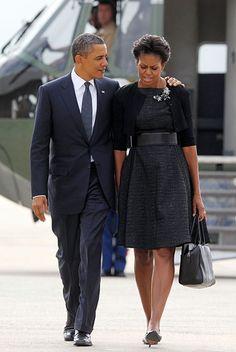 President Obama + First Lady Michelle Obama