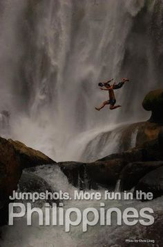 JUMP SHOTS. More FUN in the Philippines!