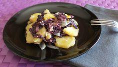 Contorno+di+patate+e+radicchio