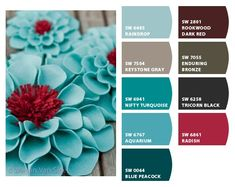 43 new ideas apartment decorating living room red paint colors Red Paint Colors, Kitchen Paint Colors, Bedroom Paint Colors, Bathroom Colors, Red Colour, Turquoise Bathroom, Turquoise Bedrooms, Gray Paint, Teal Bedrooms
