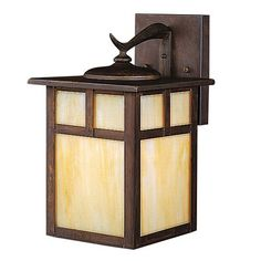 Kichler Lighting 9651CV Alameda Outdoor Sconce, Canyon View™