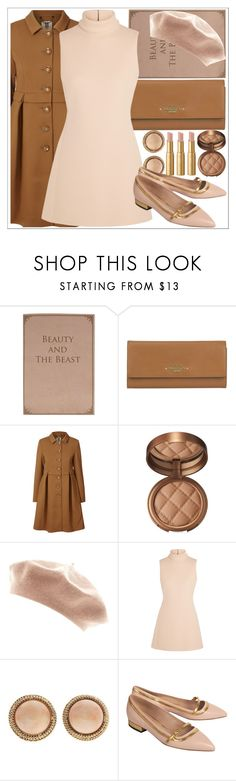 """""""moon river - audrey hepburn"""" by hanasykes ❤ liked on Polyvore featuring Valentino, Orla Kiely, Laura Geller, Calvin Klein Collection, De Siena and Too Faced Cosmetics"""