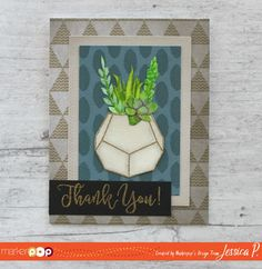 Hero Arts Stamp Your Own Succulents